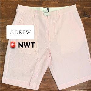 JCREW BRAND NEW Men's Seersucker shorts